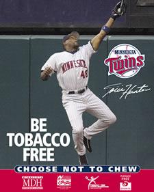 tfyr tobacco free sports posters