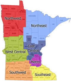 Mn State Map With Cities And Counties.Tfyr Tobacco Free Outdoor Recreational Area Policies In Minnesota